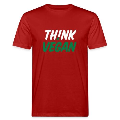 Think Vegan House - Männer Bio-T-Shirt