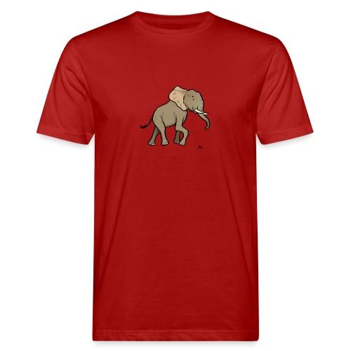African Elephant - Økologisk T-skjorte for menn