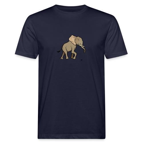 Afrikansk elefant - Økologisk T-skjorte for menn