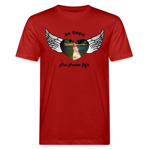 An Angel bunt - Männer Bio-T-Shirt