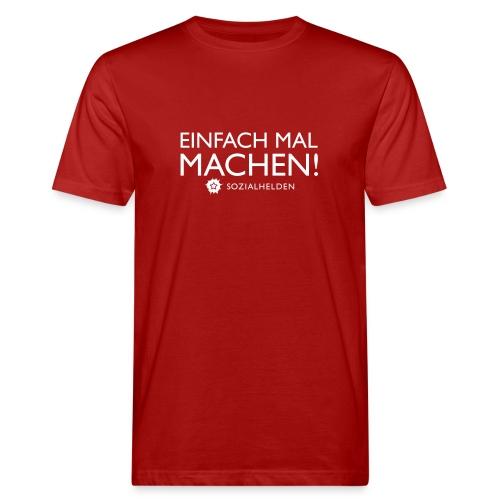 einfachmalmachen - Männer Bio-T-Shirt