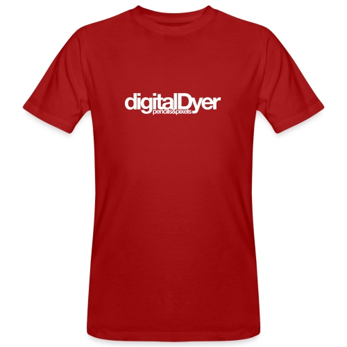 digitalDyer - Men's Organic T-Shirt