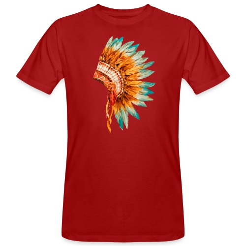 Koszulka Indianie 3 - Ekologiczna koszulka męska