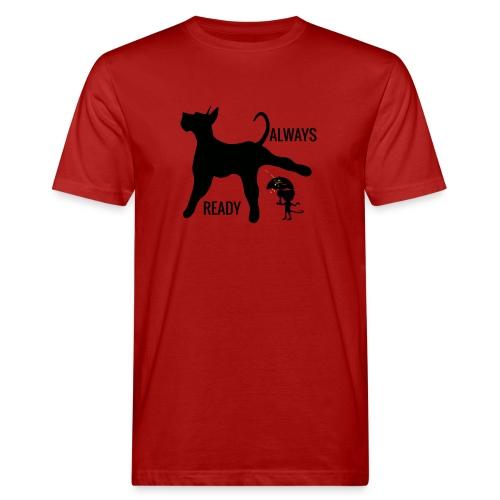 ALWAYS READY - Camiseta ecológica hombre