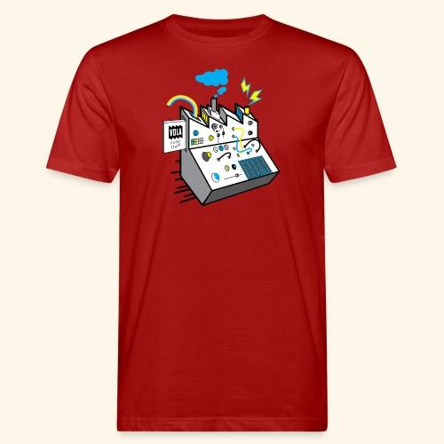 Noisy Factory - Miesten luonnonmukainen t-paita