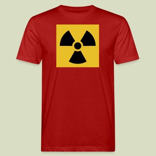 Radiation warning - Miesten luonnonmukainen t-paita