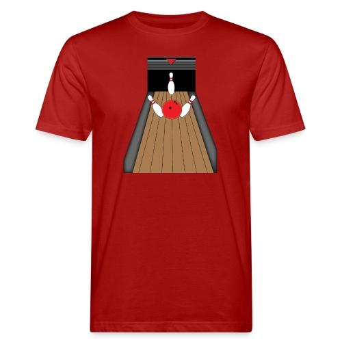 La piste de Bowling - T-shirt bio Homme