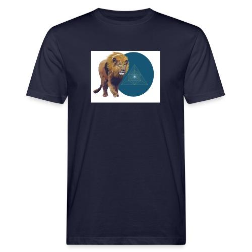 Löwe - Männer Bio-T-Shirt
