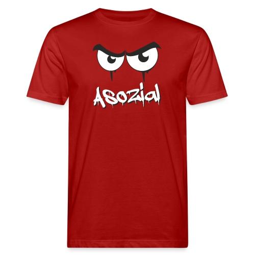 Asozial - Männer Bio-T-Shirt