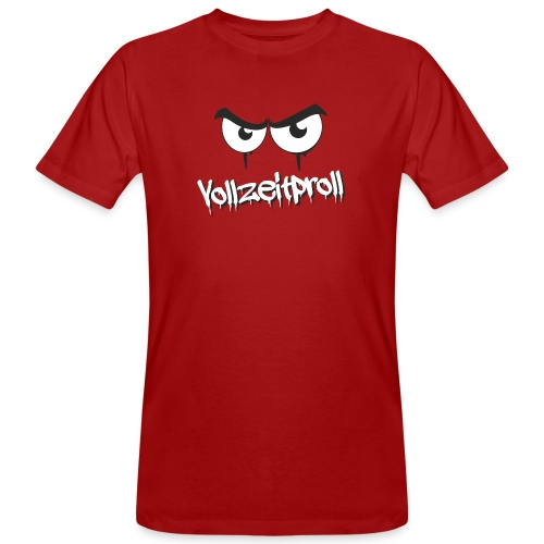 Vollzeitproll - Männer Bio-T-Shirt