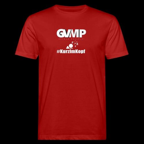 Kurz im Kopf - Männer Bio-T-Shirt