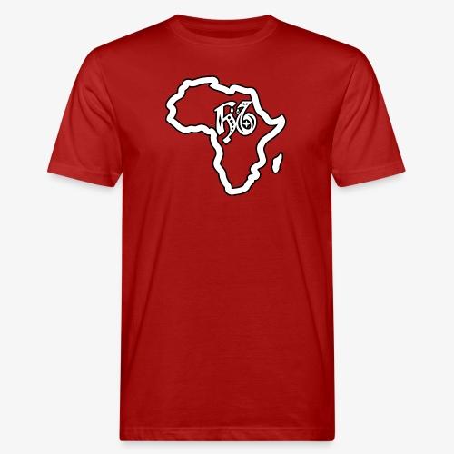 afrika pictogram - Mannen Bio-T-shirt