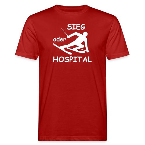 Sieg oder Hospital - Männer Bio-T-Shirt