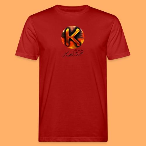 Kai_307 - Profilbild + Unterschrift Schwarz - Männer Bio-T-Shirt