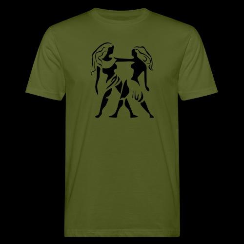 STERNZEICHEN ZWILLING - Männer Bio-T-Shirt