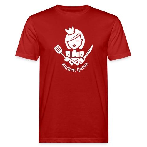 VL126_KitchenQueen_1c_inv - Männer Bio-T-Shirt