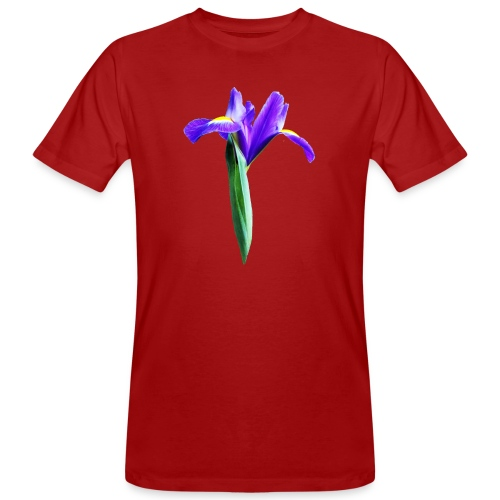 TIAN GREEN Garten - Iris 2020 02 - Männer Bio-T-Shirt