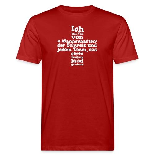 Fan von zwei Mannschaften - Männer Bio-T-Shirt