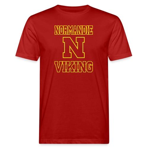 Normandie Viking Def jaune - T-shirt bio Homme