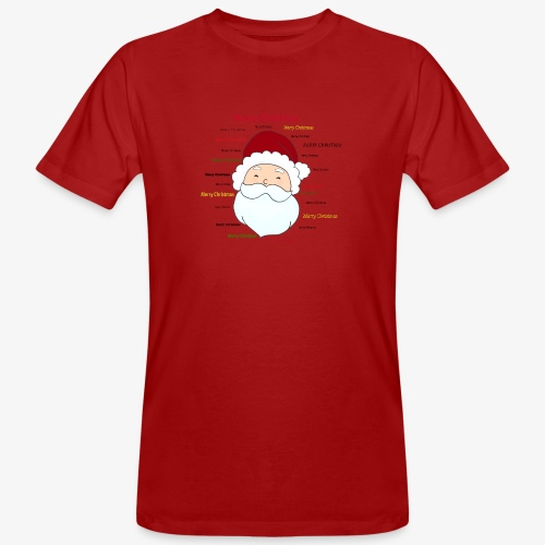 pere noel Merry x mas - Men's Organic T-Shirt