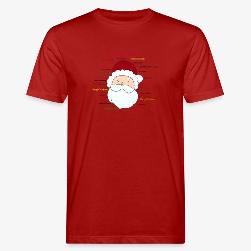 pere noel Merry x mas - T-shirt bio Homme