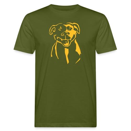 Staffordshire Bull Terrier - Miesten luonnonmukainen t-paita