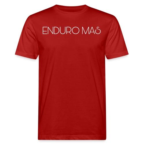 ENDURO MAS TEXTE - T-shirt bio Homme