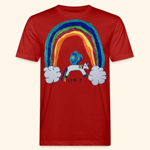 LeniT For Unicorns Only - Miesten luonnonmukainen t-paita
