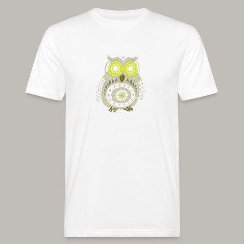 Ethnic Owly - T-shirt bio Homme