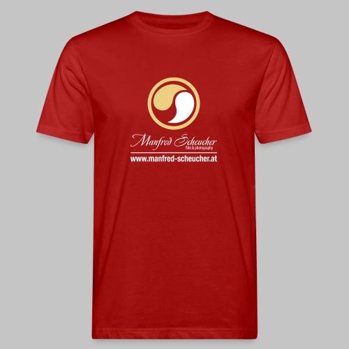 Manfred Scheucher Logo V2 - Männer Bio-T-Shirt
