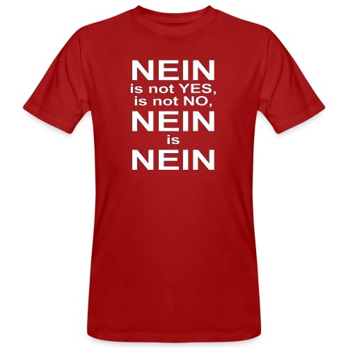 NEIN! - Men's Organic T-Shirt