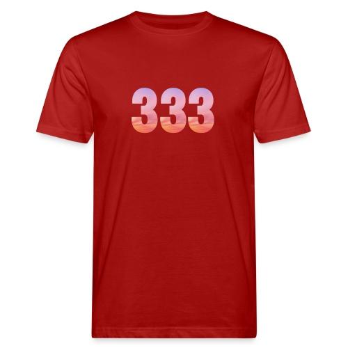 333 vous étes entouré de maitres ascensionnés - T-shirt bio Homme