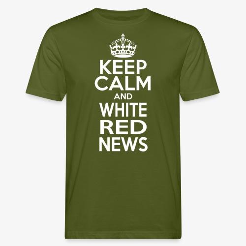 Maglietta Keep Calm WRN - T-shirt ecologica da uomo