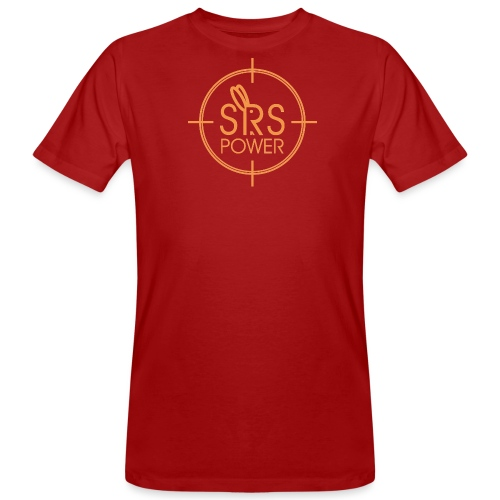 Srspower Official Orange - Men's Organic T-Shirt