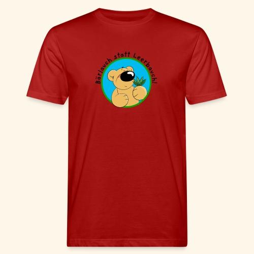 Bärlauch statt Leerbauch! - Männer Bio-T-Shirt