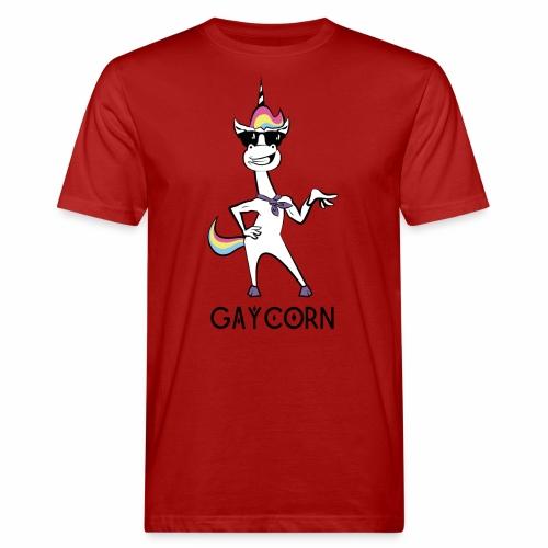 Gaycorn - Männer Bio-T-Shirt