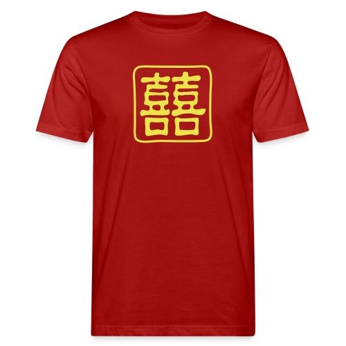 Double Bonheur - T-shirt bio Homme