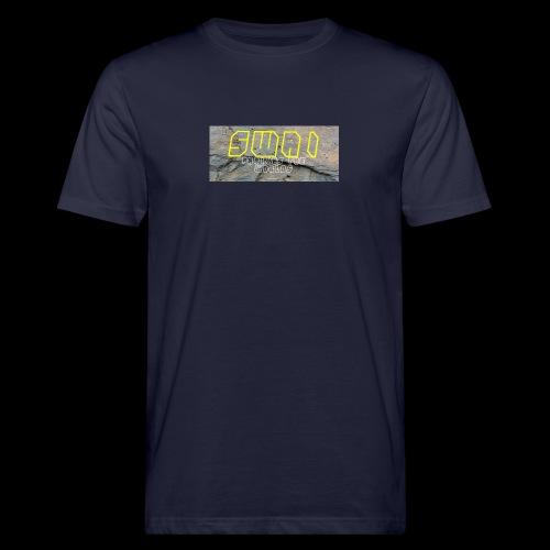 swai stoned yellow - Männer Bio-T-Shirt