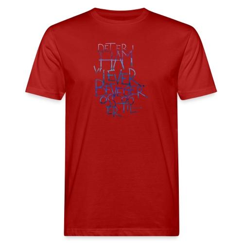 Det er i ham vi lever - Økologisk T-skjorte for menn