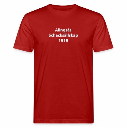 Alingsås Schacksällskap, 1919 - Ekologisk T-shirt herr