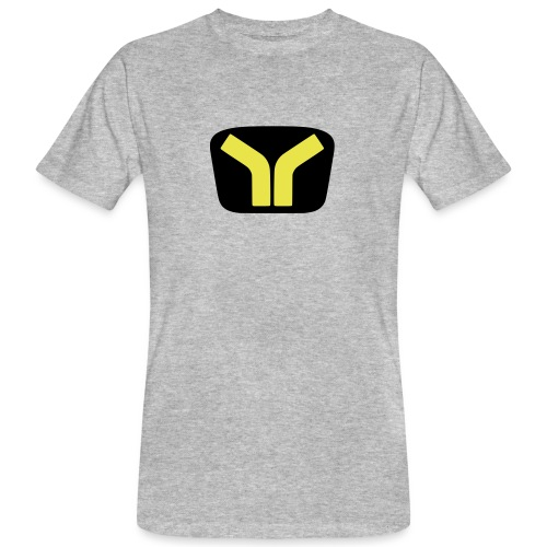 Yugo logo colored design - Men's Organic T-Shirt