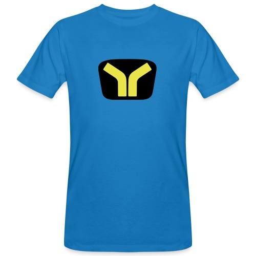 Yugo logo colored design - Men's Organic T-Shirt