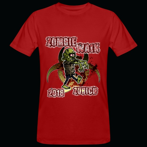 shirt zombie walk3 - Männer Bio-T-Shirt