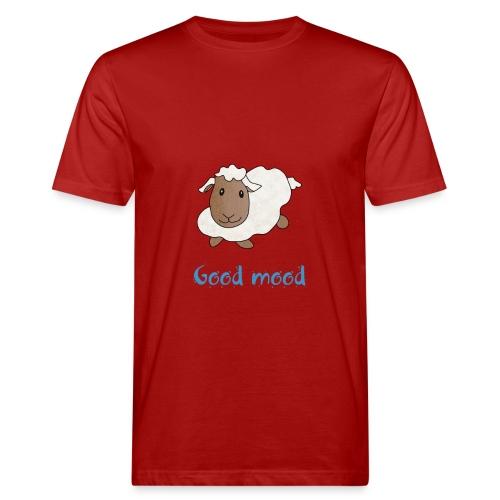 Nadège le petit mouton blanc - T-shirt bio Homme