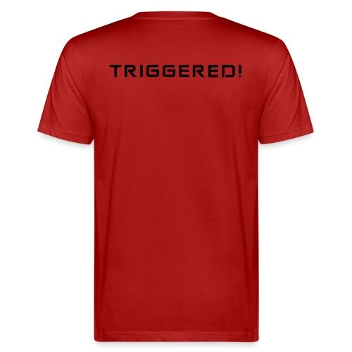 Black Negant logo + TRIGGERED! - Organic mænd
