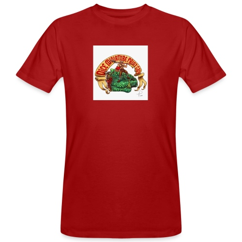 DiceMiniaturePaintGuy - Men's Organic T-Shirt