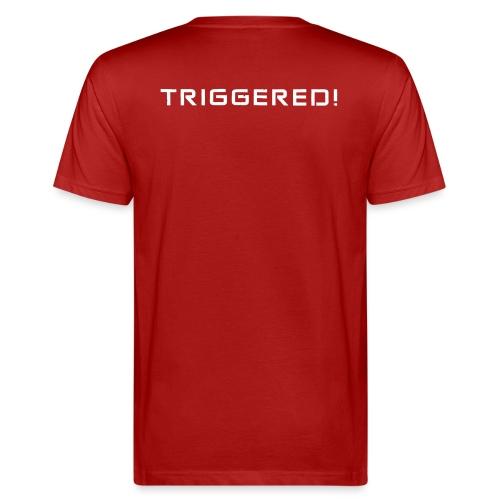 White Negant logo + TRIGGERED! - Organic mænd