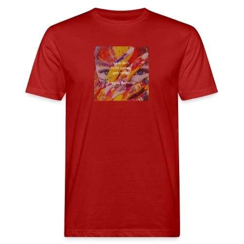 Geh selbst - Männer Bio-T-Shirt