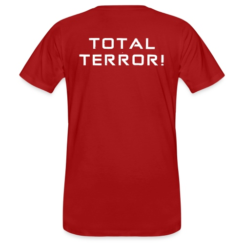White Negant logo + TOTAL TERROR! - Organic mænd