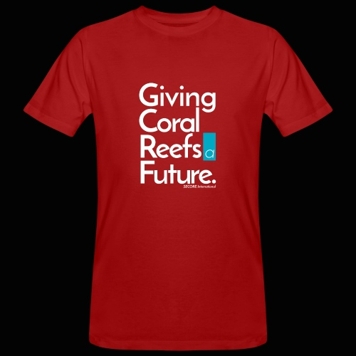 Giving Coral Reefs a Future - Men's Organic T-Shirt